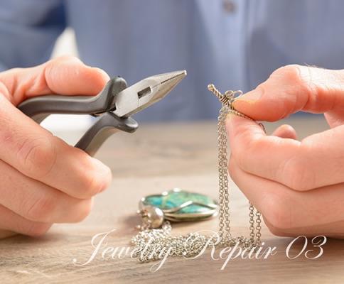 ネックレス切れ・留め金修理