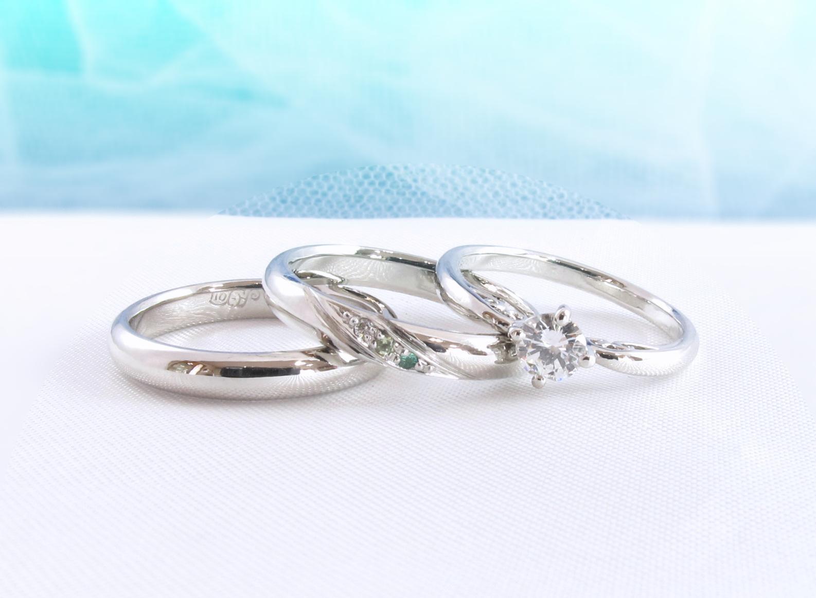 本当に素敵な素敵な指輪をありがとうございました。