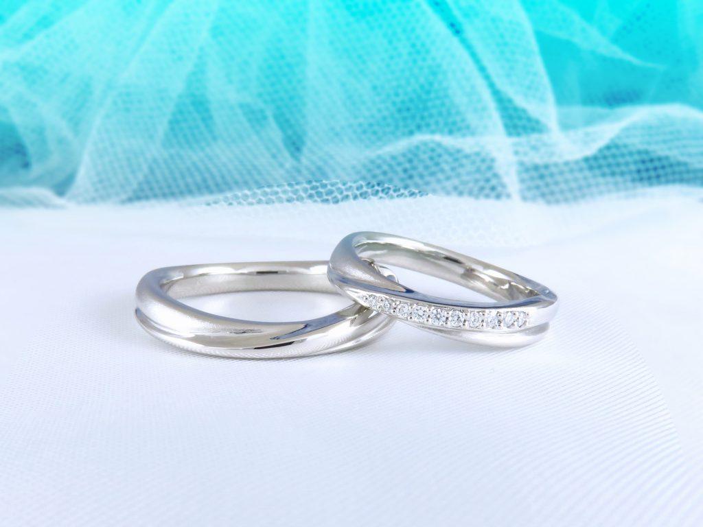 指輪を作成する際も私たちの要望を聞いて頂きお気に入りのものを作ってくれました。